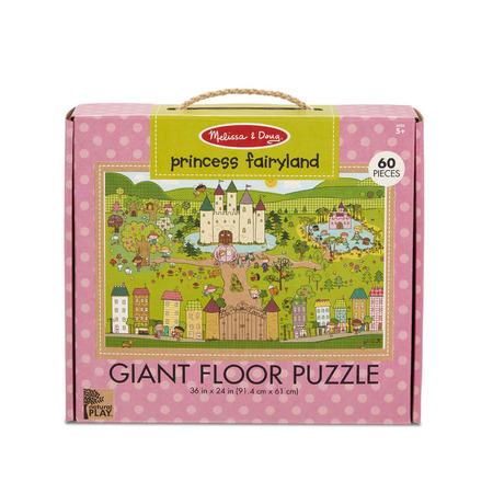 Primul meu puzzle de podea eco Tinutul Printelesor - Melissa & Doug*