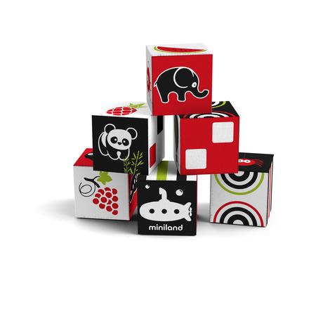 Set 6 cuburi educationale pentru bebelusi*