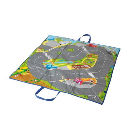 Covoras de joaca si cutie pentru jucarii Trafic*