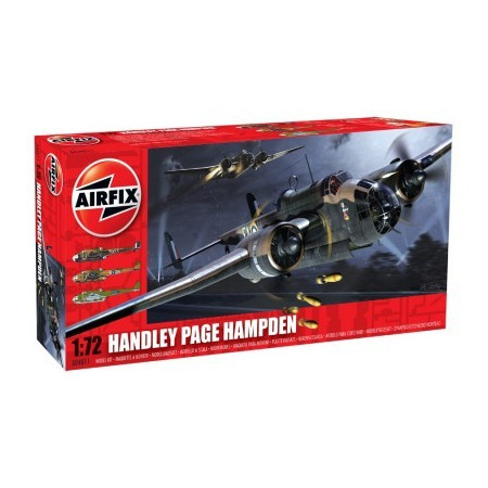 Kit constructie si pictura Handley Page Hampden, Airfix*