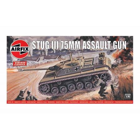 Kit constructie Airfix Vintage Classics - Stug III 75mm Assault Gun 1:76*