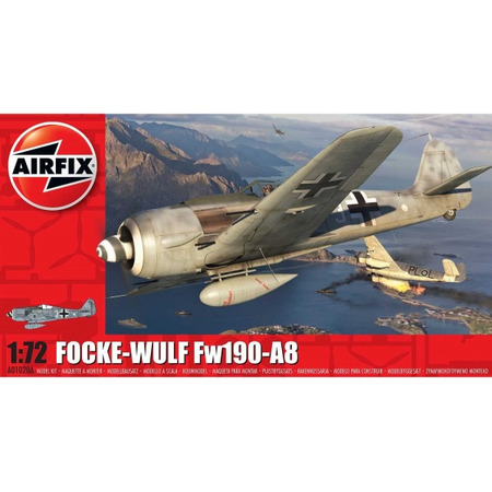Kit constructie Airfix Avion Focke-Wulf Fw190A-8 1:72*