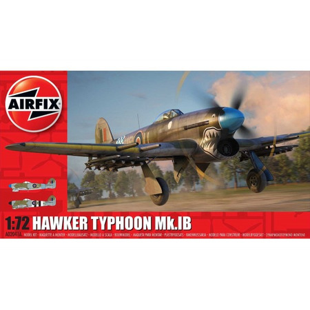 Kit constructie Airfix avion Hawker Typhoon Ib 1:72*