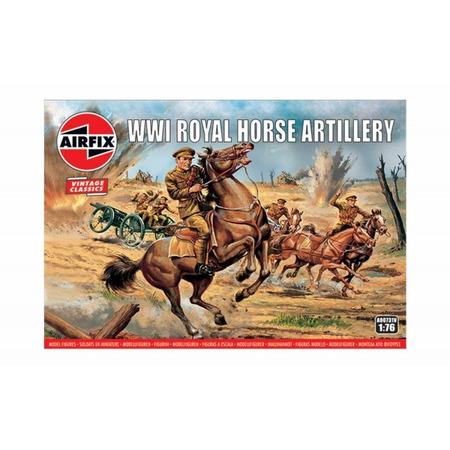 Kit constructie Airfix tanc Vintage Classics - WWI Royal Horse Artillery 1:76*