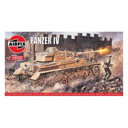 Kit constructie Airfix Tanc Vintage Classics - Panzer IV F1/F2 1:76 New*