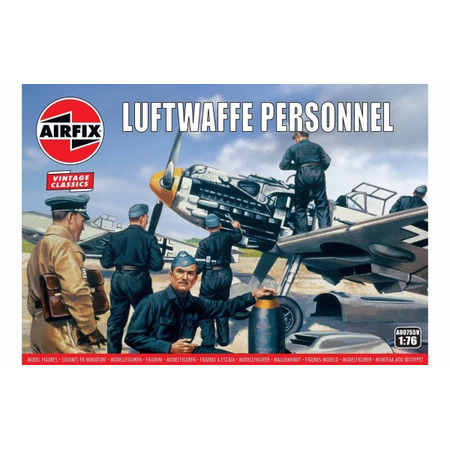 Kit constructie Airfix soldati Luftwaffe Personnel*