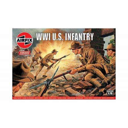 Kit constructie Airfix soldati Vintage Classics - WWI U.S. Infantry 1:76*