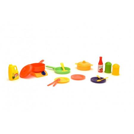 Set oale si accesorii bucatarie din plastic Globo*