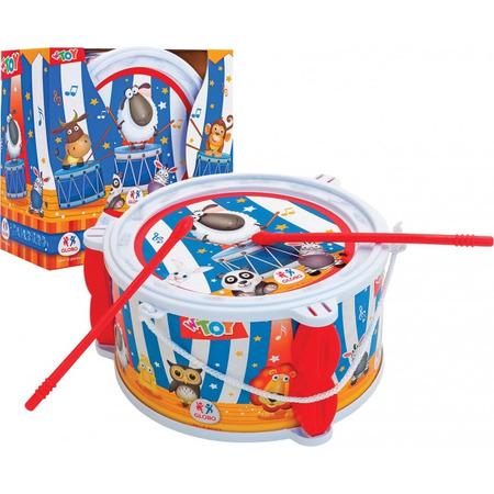 Jucarie Toba plastic Globo cu doua bete 18.5 cm*