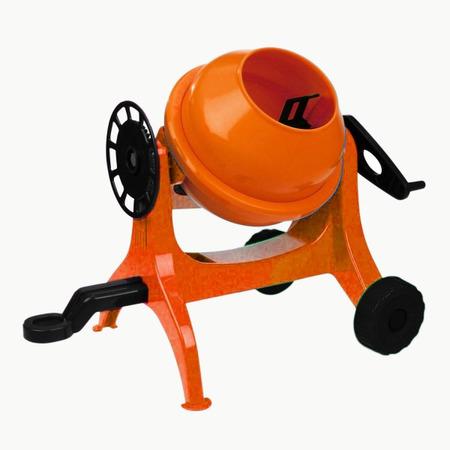 Betoniera Lena 05010 mica din plastic portocalie*