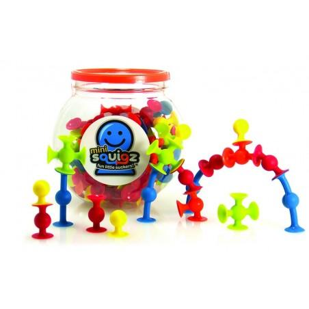 Joc de constructie Mini Squigz - Fat Brain Toys
