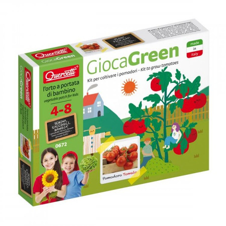 Set creativ pentru copii Cultivare Rosii Quercetti*