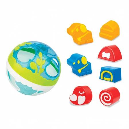 Minge bebelusi din plastic Winfun cu sortator si 7 forme incluse*