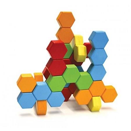 Joc de constructie IQ HexActly - Fat Brain Toys