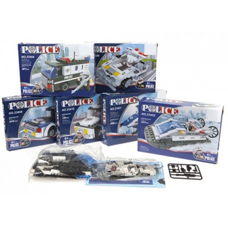 Set contructie vehivule politie PMS*