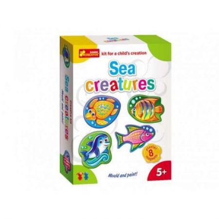 Set creativ modelare Ranok 8 magneti Animale Marine*