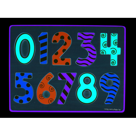 Puzzle mare 123, Bigjigs*