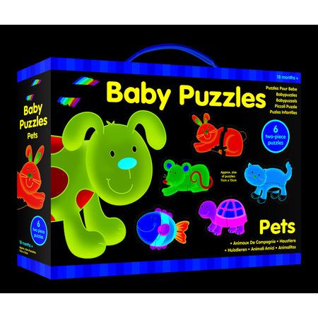 Baby Puzzle: Animale de companie (2 piese), Galt*