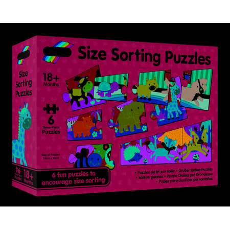 Set 6 puzzle - Animalute jucause (3 piese), Galt*
