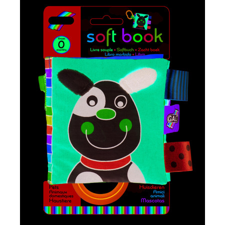 Soft Book: Carticica moale Pets, Galt*