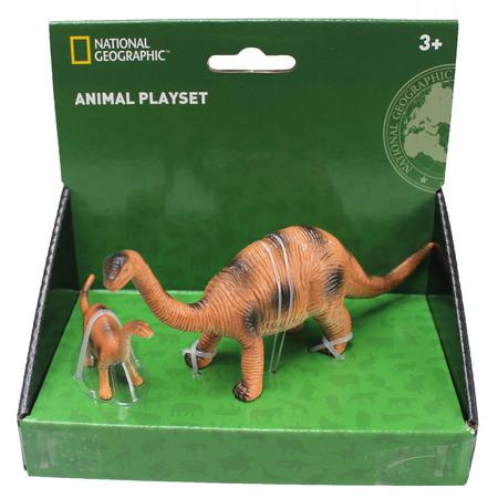Set 2 figurine - Apatosaurus, National Geographic*