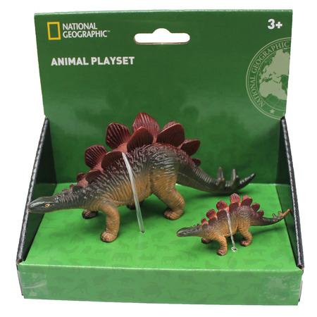 Set 2 figurine - Stegosaurus, National Geographic*