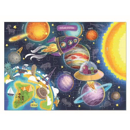 Puzzle - Spatiul cosmic (100 piese), Dodo*