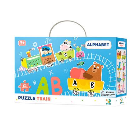 Puzzle - Trenuletul alfabetului (21 piese), Dodo*