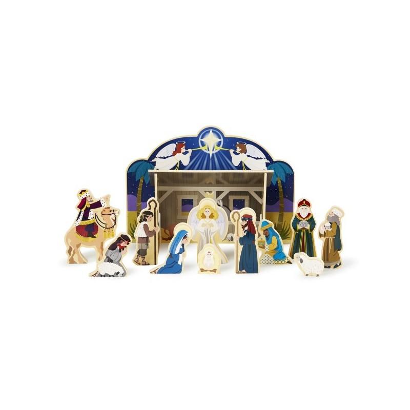 Set figurine Nastere Domnului - Melissa and Doug