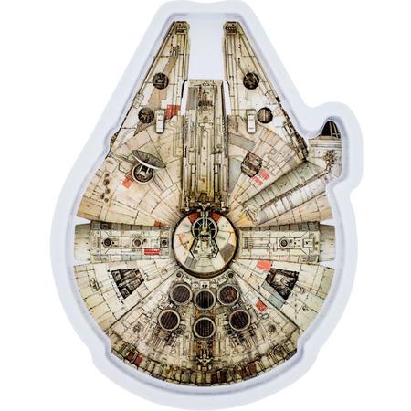 Farfurie melamina Star Wars Millennium Falcon Lulabi 8340400-M*