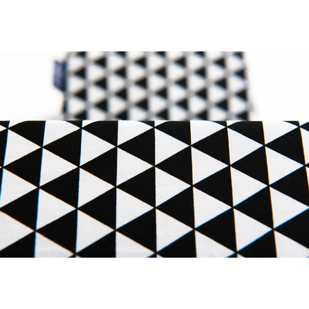 Suport de dormit Bumbac Plus Womar Zaffiro AN-OT-ZF01, negru/alb*