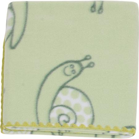 Paturica bebelusi colorata Polar Fleece 90 x 80 cm Womar Zaffiro PT-PF-02, verde*