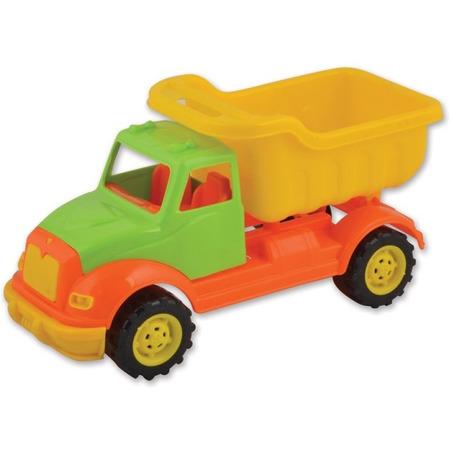 Autobasculanta 30 cm cu 36 piese constructie Ucar Toys UC103*