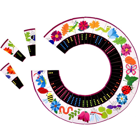 Joc Domino Circular Natura Fiesta Crafts FCT-2928*