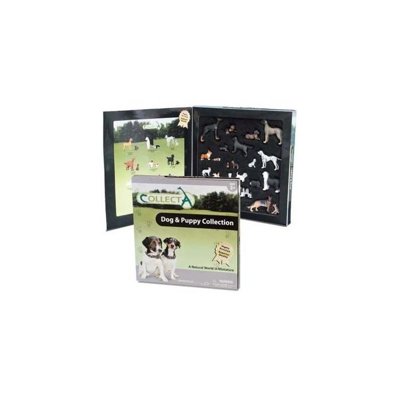 Set figurine caini si catelusi Deluxe Collecta