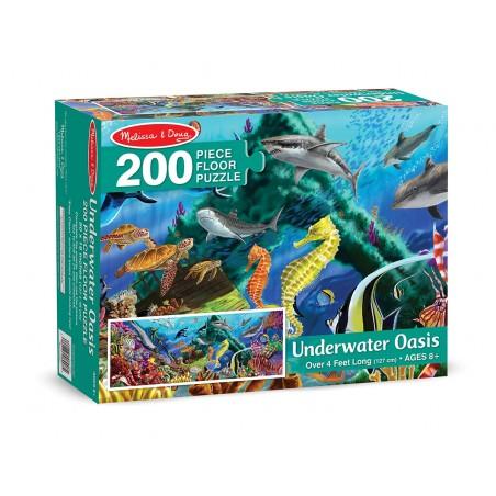 Puzzle 200 piese Adancurile marii - Melissa and Doug