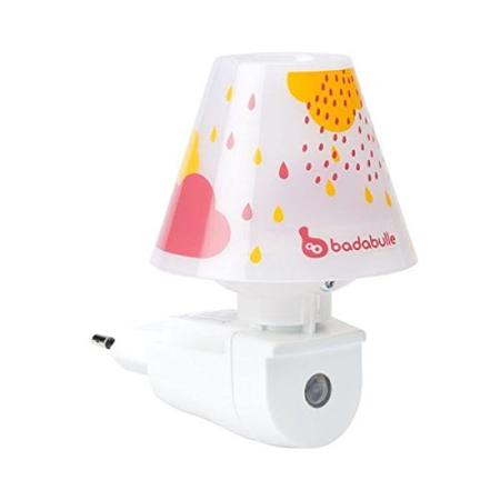 Lampa automata night shade roz, Badabulle*