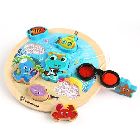 Baby einstein - jucarie de lemn hape submarine adventure puzzle™, Bright Starts*