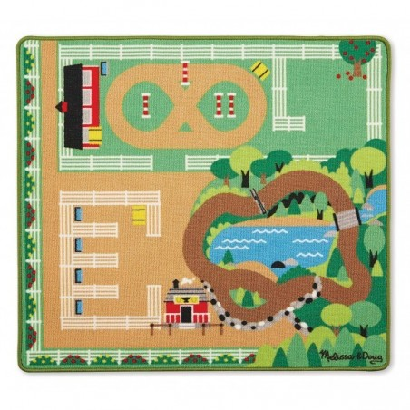 Covor de joaca Ferma calutilor - Melissa and Doug