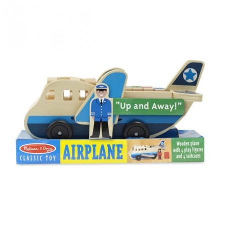 Set de joaca Avion cu pasageri Melissa and Doug