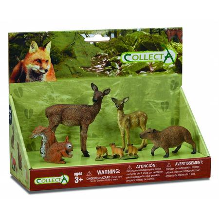 Set 5 figurine Lumea Padurii Collecta*