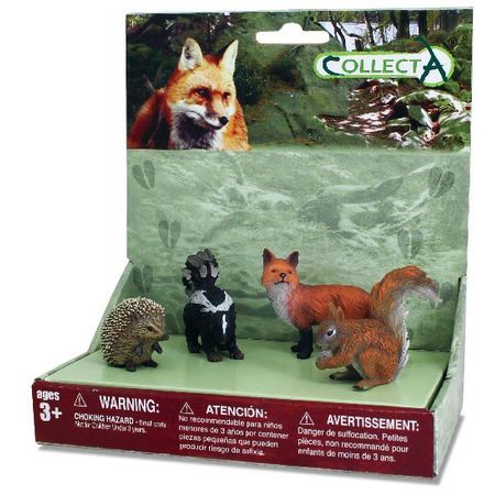 Set 4 figurine Animale din padure - Collecta*