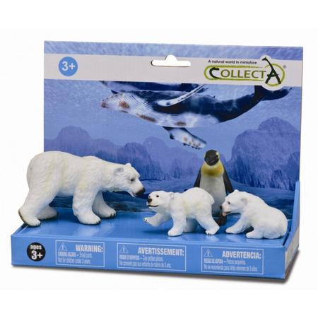 Set 4 figurine Viata marina - Collecta*