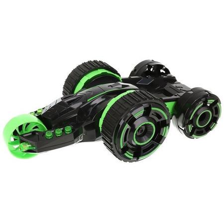 Masinuta cu Telecomanda Acrobat Twister Iso Trade MY17316, negru/verde*