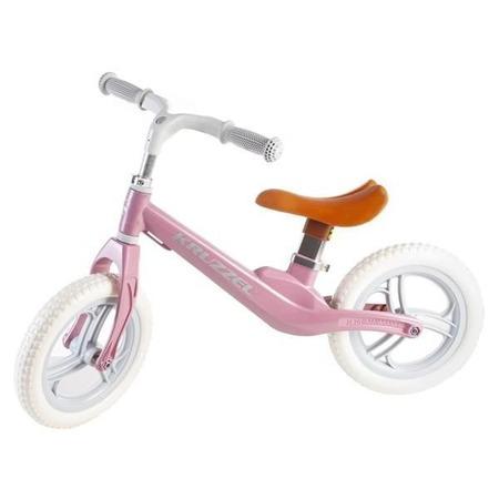 Bicicleta fara pedale, 12 inch Kruzzel MY2835, roz*