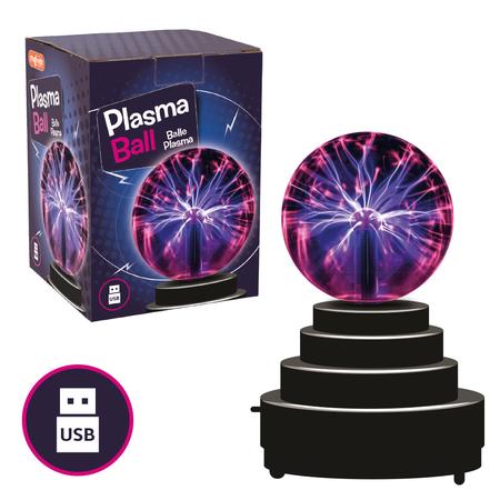 Jucarie interactiva - Glob cu plasma, Keycraft*