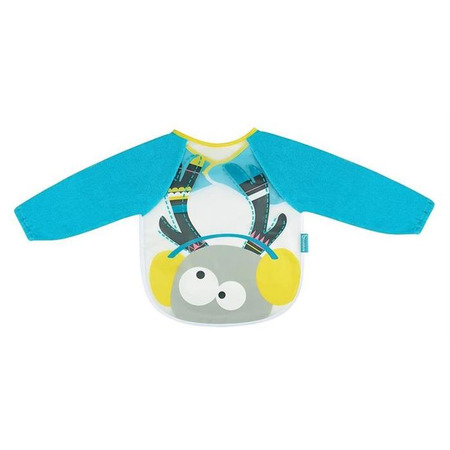 Baveta cu maneci lungi blue deer, Badabulle*