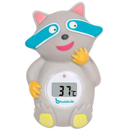 Termometru 2 in 1 pentru baita si pentru camera racoon, Badabulle*