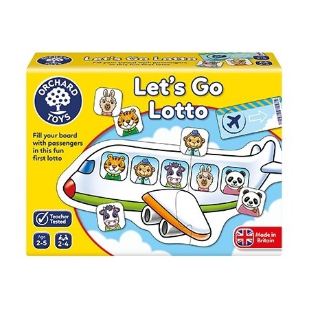 Joc educativ hai sa mergem let's go lotto, Orchard Toys*