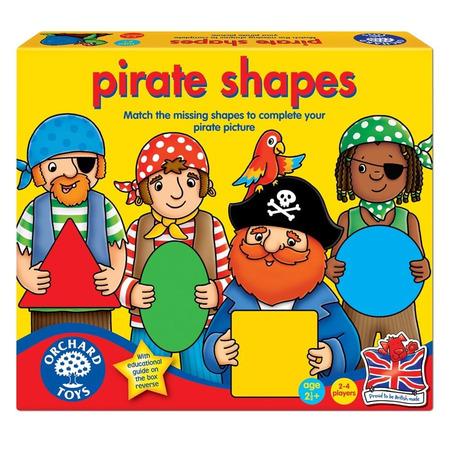 Joc educativ formele piratilor pirate shapes, Orchard Toys*